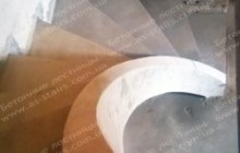 Бетонная лестница для квартиры