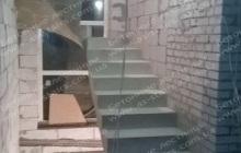 Бровары строительство монолитной лестницы