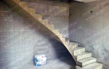 ЖК Комфорт Таун изготовление бетонной лестницы