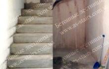 ЖК Празький строительство бетонной лестницы