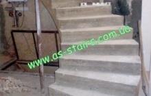 Строительсвто бетонной лестницы в Житомире