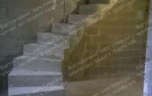 Оригинальная лестница из бетона Комфорт таун