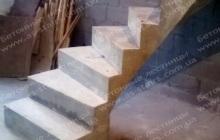 Комфорт таун монолитная лестница из бетона