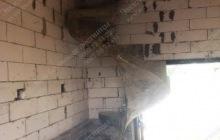 Строительство монолитной винтовой лестницы Украинка