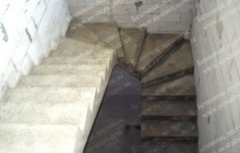 Изготовление бетонных ступеней
