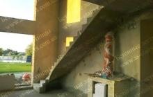 Монолитная лестница для дома
