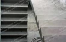 Вишенки Изготовление бетонной лестницы