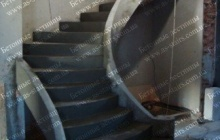 Строительство монолитной лестницы