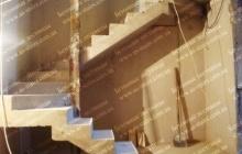 Оригинальная лестница из бетона