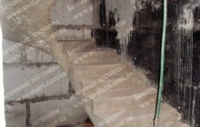 Изготовление бетонной лестницы недорого