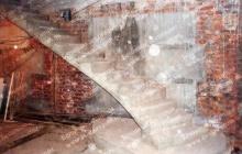 Бетонные ступени на даче