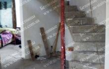 Строительство лестницы в доме Ирпень