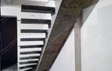 Изготовление бетонной лестницы Подгорцы