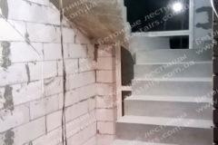 Бровары монолитная лестница на даче