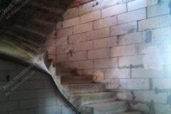 Житомир монолитная лестница из бетона