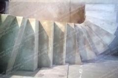 Изготовление монолитной бетонной лестницы Комфорт таун