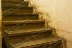 Конча Заспа прямая лестница для дома из бетона