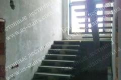 Изготовление монолитной лестниц на центральном косоуре