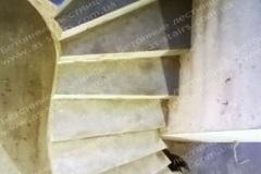 Криволинейная бетонная лестница Житомир