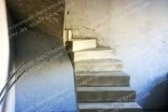 Строительство монолитной лестницы в ЖК софия