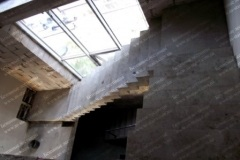 Маршевая лестница из бетона Лебедёвка