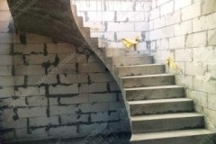 Монолитная лестницы в Бердичеве