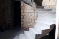 Криволинейная бетонная лестница Ржищев