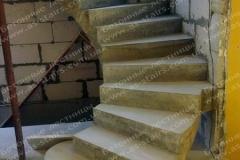 Боярка строительсвто бетонной лестницы
