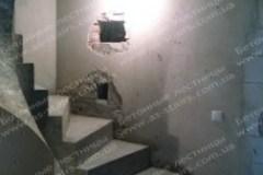 Драгоманова монолитная лестница из бетона