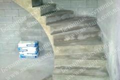 ЖК Комфорт Таун строительство бетонной лестницы