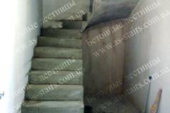 ЖК Празький лестница из бетона