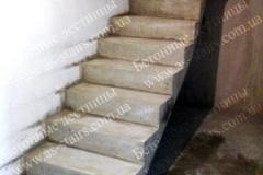 ЖК Празький изготовление монолитной лестницы