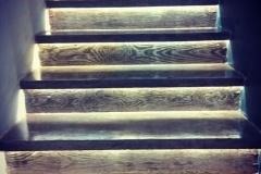 Конча Заспа строительство бетонной лестницы