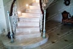 Рам изготовление бетонной лестницы с перилами
