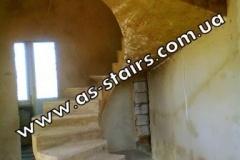 Эксклюзивная лестница из бетона на заказ