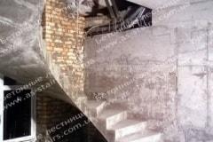 Черкасы криволинейная лестница из бетона