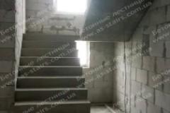 Вишенки бетонная лестница в доме