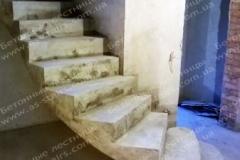 Монолитная бетонная лестница Житомир