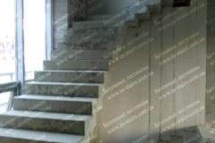 Строительство маршевых лестниц на даче Лебедёвка