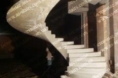 Изготовление монолитной лестницы