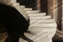 Изготовление железобетонной лестницы