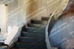 Строительство железобетонной лестницы