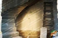 Заливка железобетонной лестницы