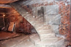 Современная лестница из бетона