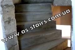 Изготовление ступеней из бетона