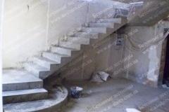 Лестница из бетона на 2 этаж