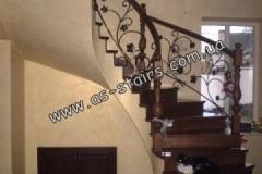 Изготовление лестницы на заказ Ирпень