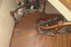 Изготовление лестницы в доме Ирпень
