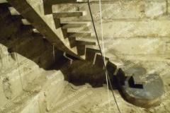 Лестницы на центральном косоуре