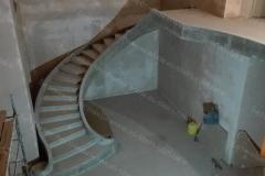 Бетонная лестница фото